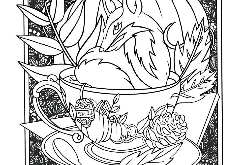 Coloring - Foxy