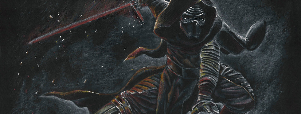 Kylo Ren- The Force Awakens