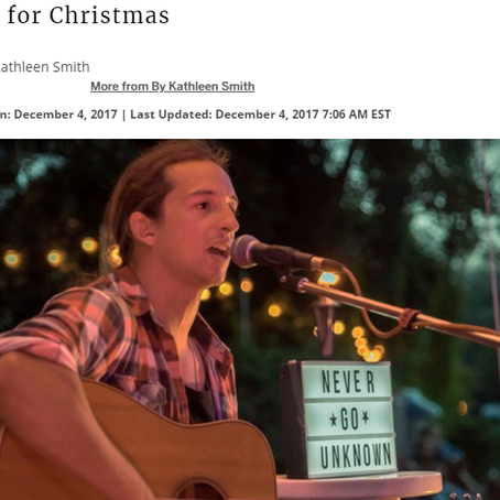 Goderich Signal Star: Interview 'Home for Christmas'