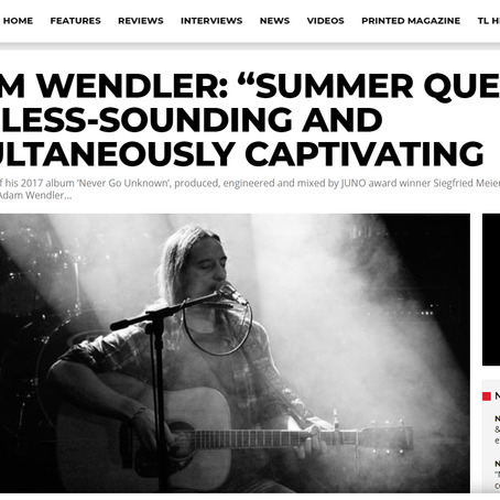 Tuneloud (Blog) - Summer Queen
