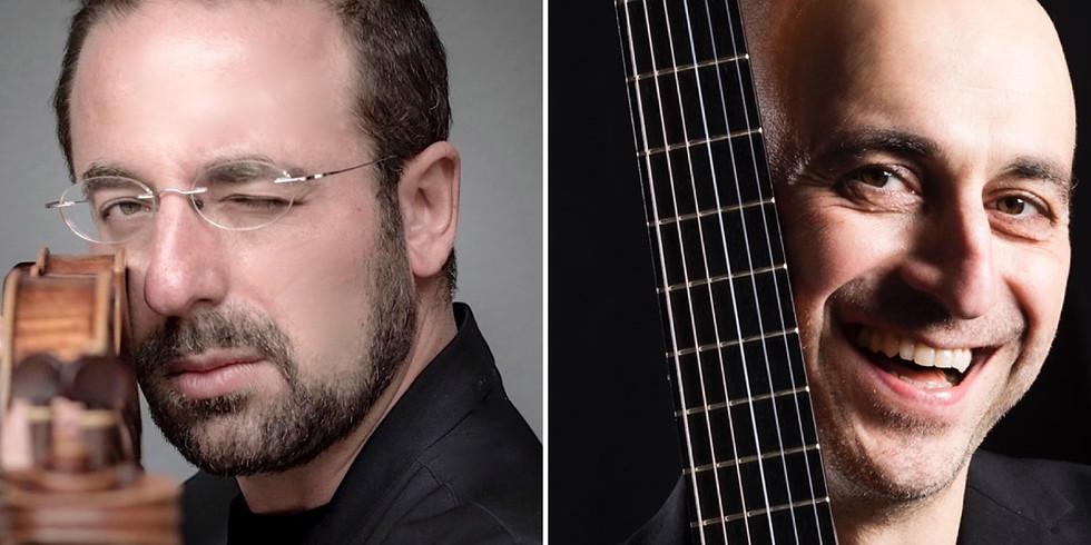 Giulio Plotino & Matteo Mela, violino & chitarra