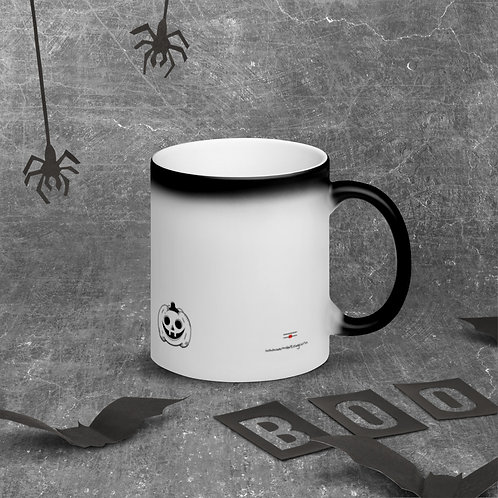 Matte Black Magic Mug HWEEN20