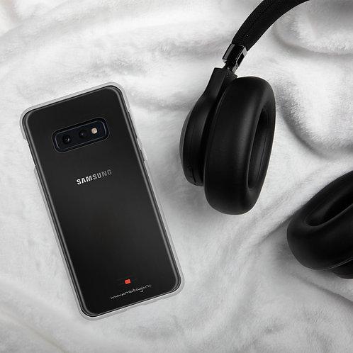 Signature Transparent Samsung Case