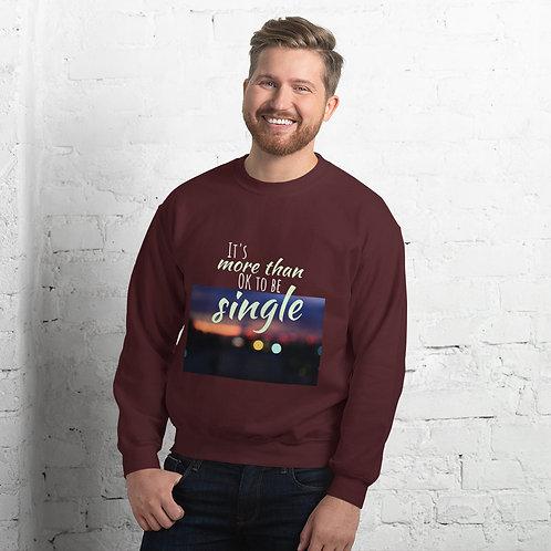 Unisex Sweatshirt MoreThanSingle1