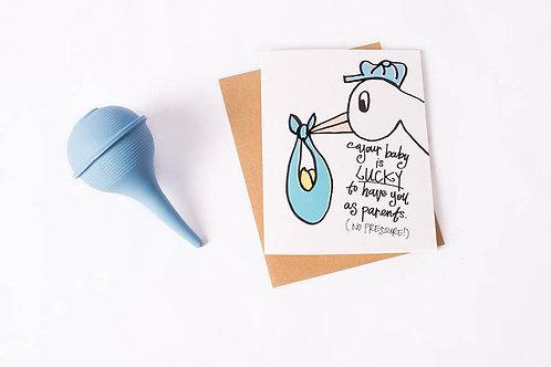 Lucky Baby Card