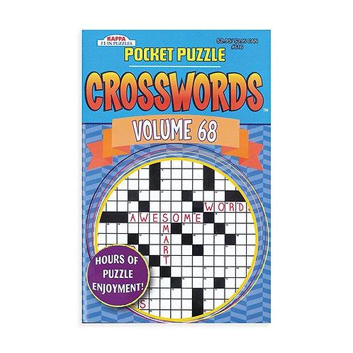 Crossword Pocket Puzzle