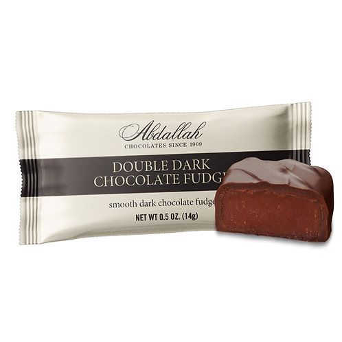 Double Dark Chocolate Fudge