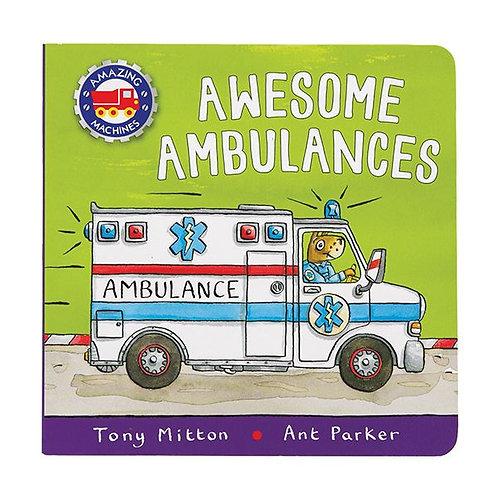 Awesome Ambulances Boardbook