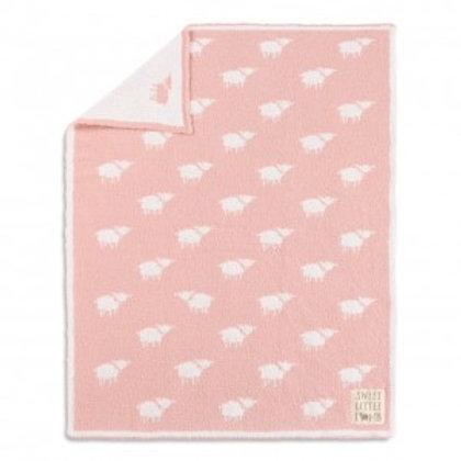 Pink Lamb Blanket