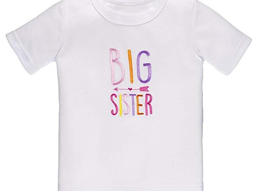 Big Sister Embroidered Tee