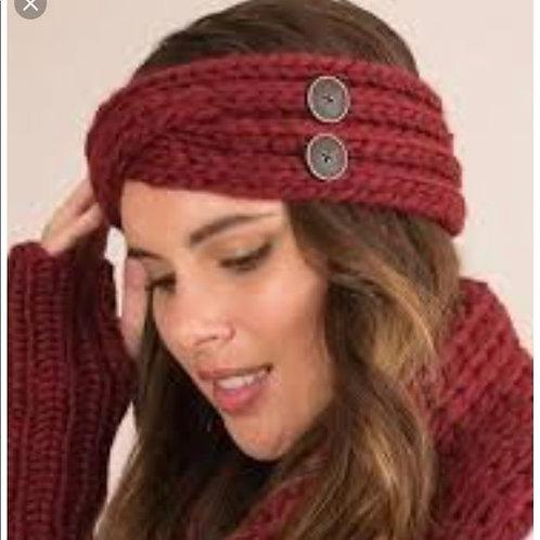 Fireside Knit Headband