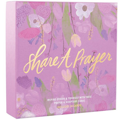 Share A Prayer Floral Cards