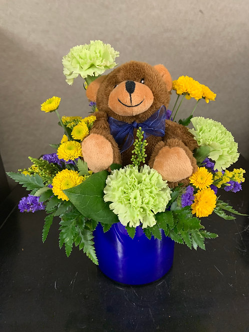 Blue Bear Arrangement