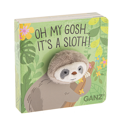 Sloth Finger Puppet Book