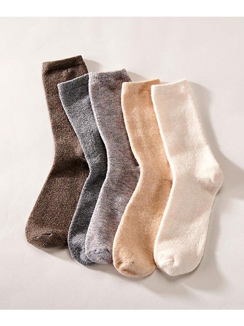 Soft Neutral Socks