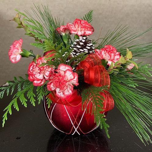 Festive Ornament Arrangement