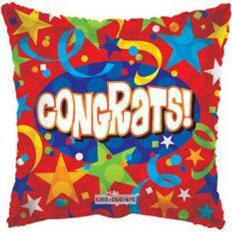 Congrats Mylar Balloon