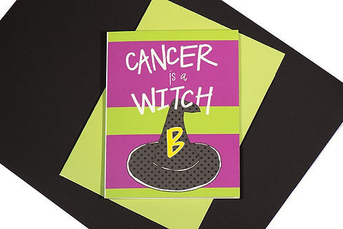 Cancer is a Witch Card
