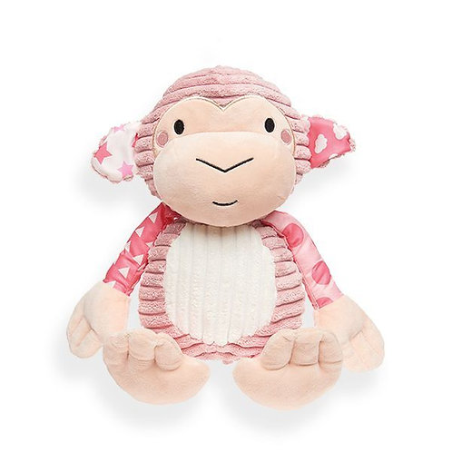 Pitter Patter Pink Monkey