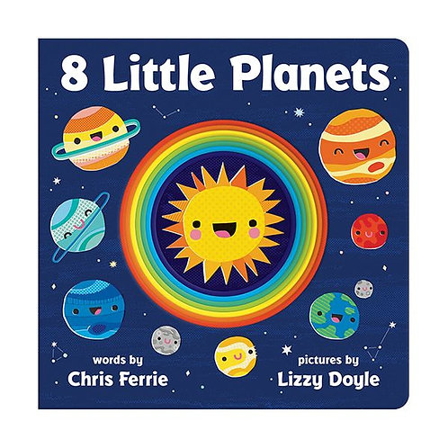 8 Little Planets Boardbook
