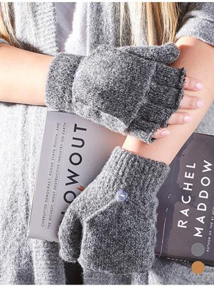 Unisex Lined Glove Mitts