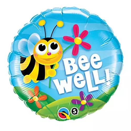 Bee Well Mylar Balloon