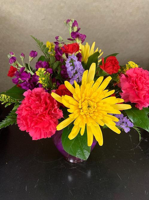 Purple Colorful Arrangement