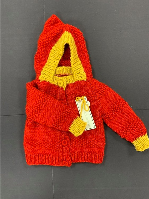 Red and Gold Sweater