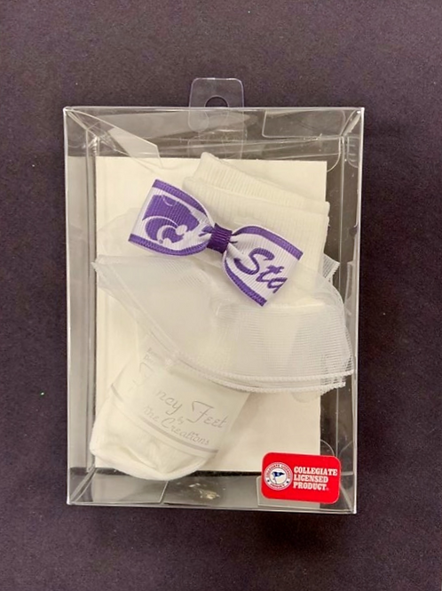 KSU Infant Socks