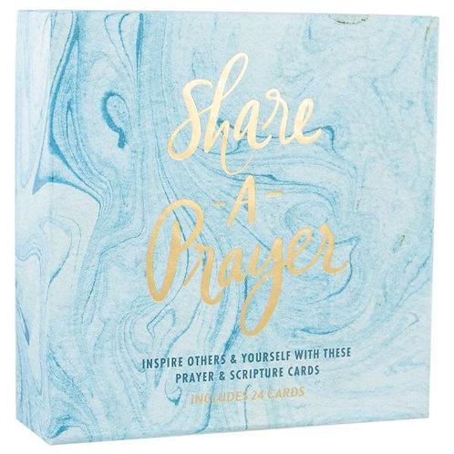 Share A Prayer Marble Cards