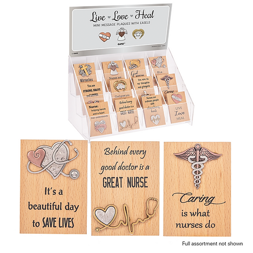 Nurse Mini Desk Plaque w/ Easel