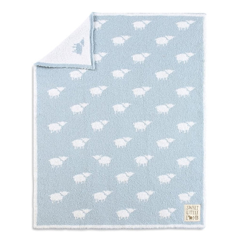 Blue Lamb Blanket