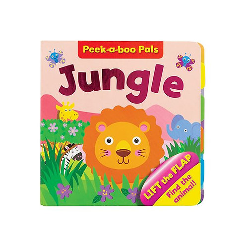Jungle Lift-The-Flap Boardbook