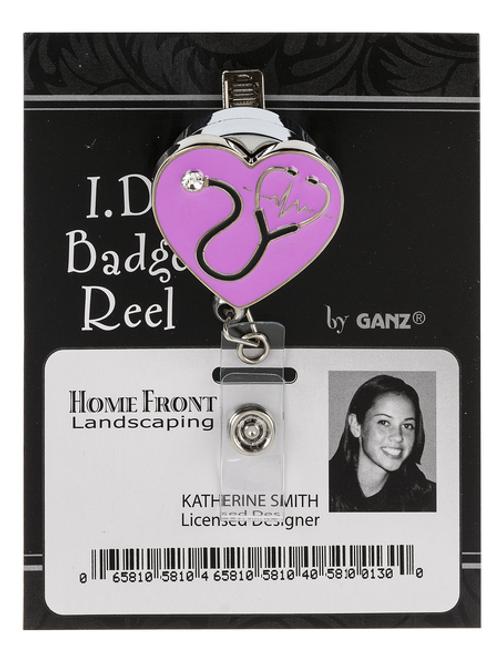 Nurse ID Badge Reel