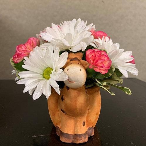 Giraffe Floral Arrangement