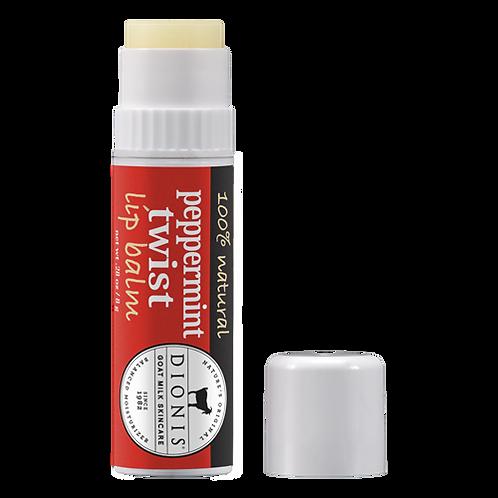 Goat Milk Peppermint Twist Lip Balm