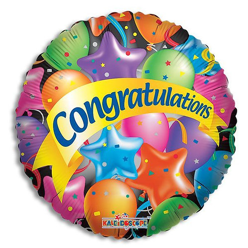 Congratulations Mylar Balloon