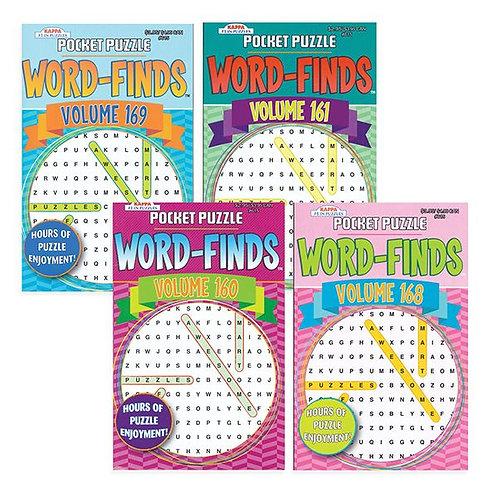 Word Find Pocket Puzzle