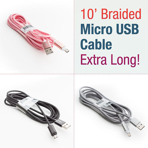 10 ft. Micro USB Cable