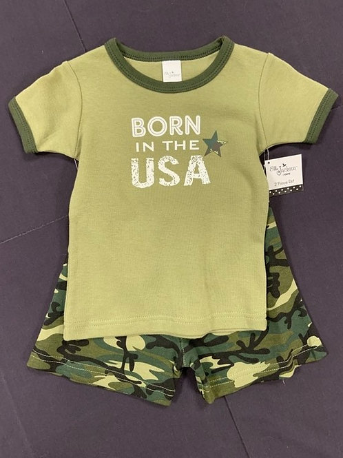 Born in the USA Short Set