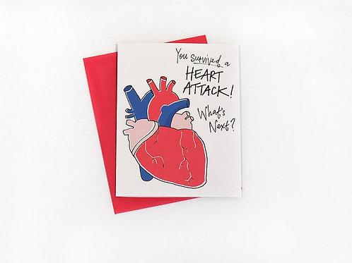 Heart Attack Card