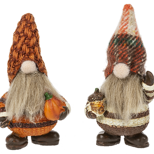 Lucky Little Autumn Gnome Charm