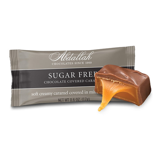 Sugar Free Chocolate Covered Caramel