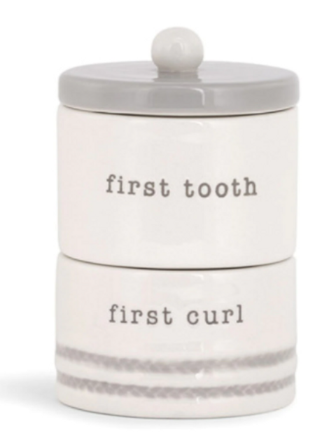 Blue First Tooth/Curl Box