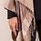 Thumbnail: Plaid Fringe Hooded Wrap