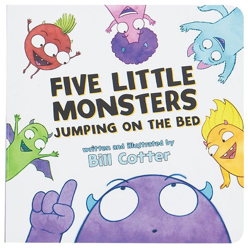 Five Little Monsters Boardbook