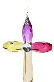Crystal Rainbow Cross