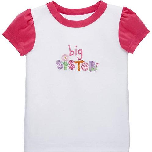 Big Sister Tee Pink