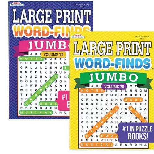 Jumbo Word Find