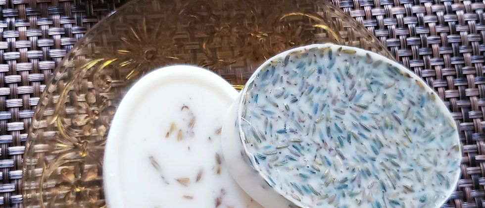 Goatmilk Soap with Lavender buds